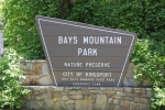 Bays Mountain Sign