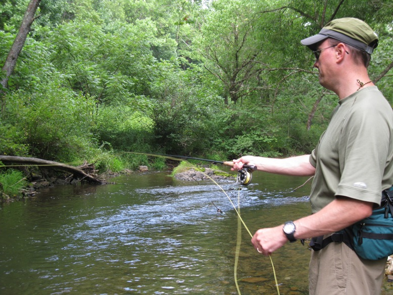 Southwest virginia fly fishing abingdon outdoors for Fly fishing ohio