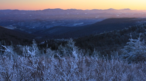 The Blue Ridge Mountains in all their glory