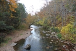 Jackson River downstream of the bridge