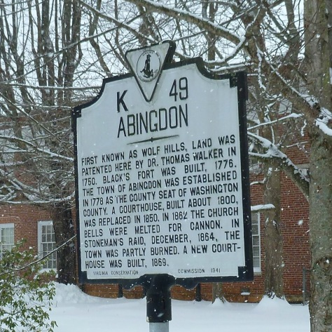 Abingdon Sign