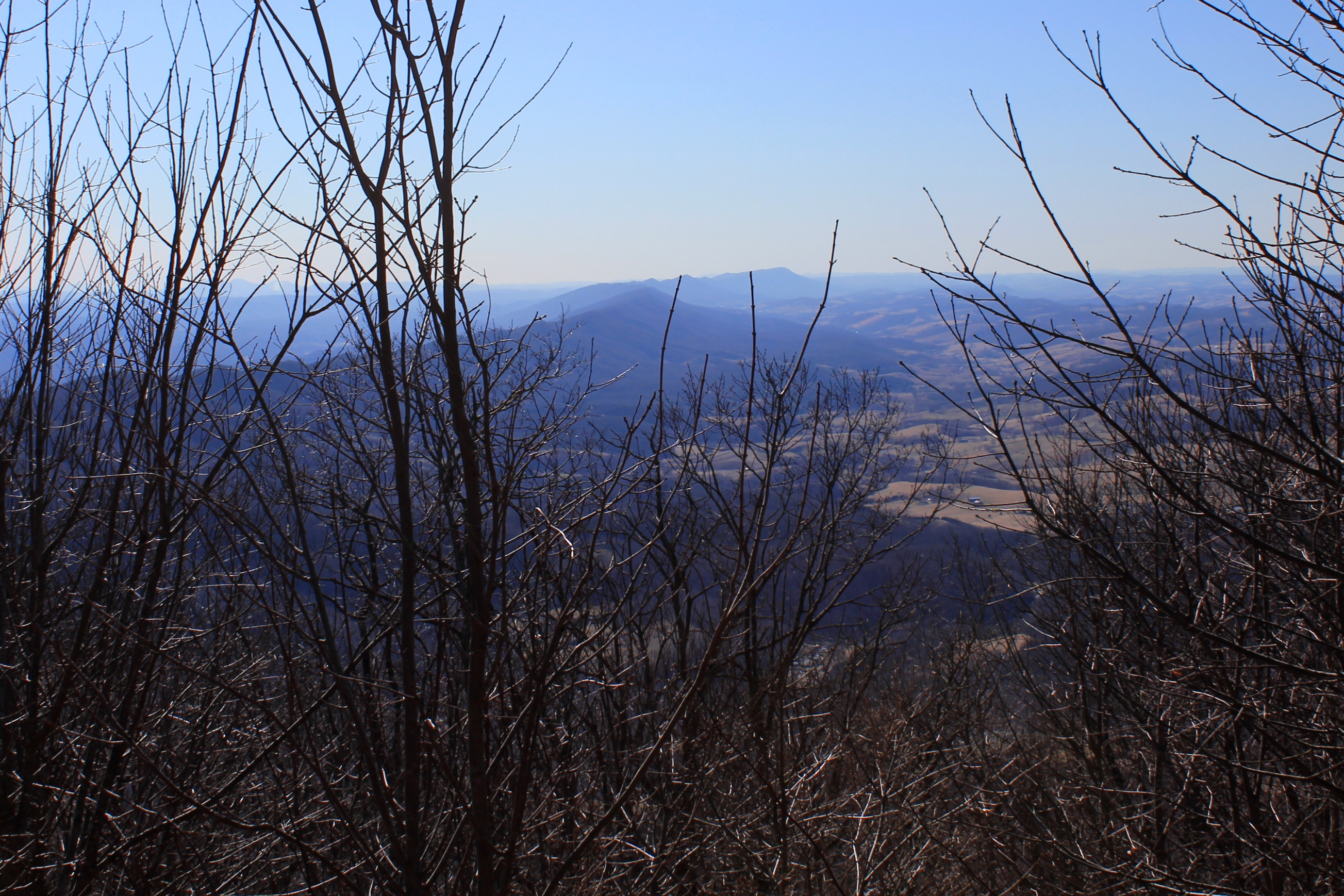 Southern Spine of Clinch Mountain