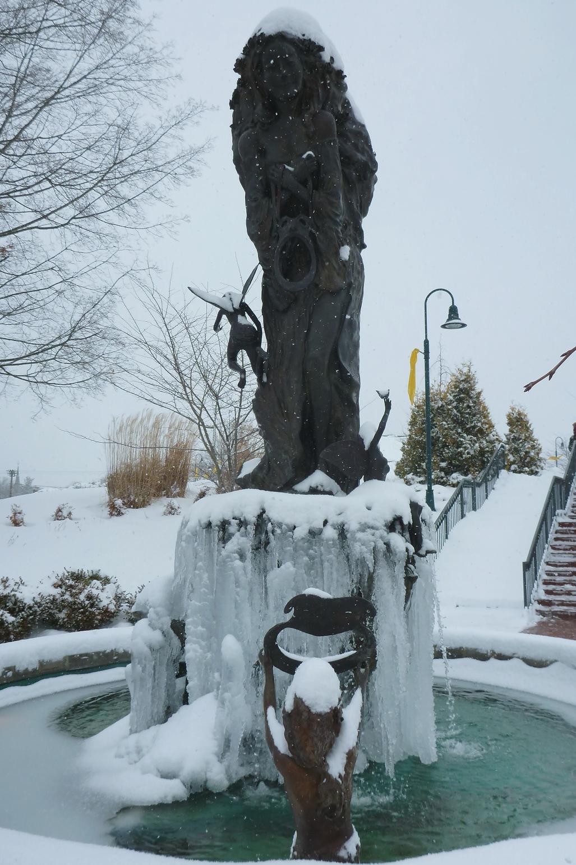 Frozen Fountain at Barter Theatre