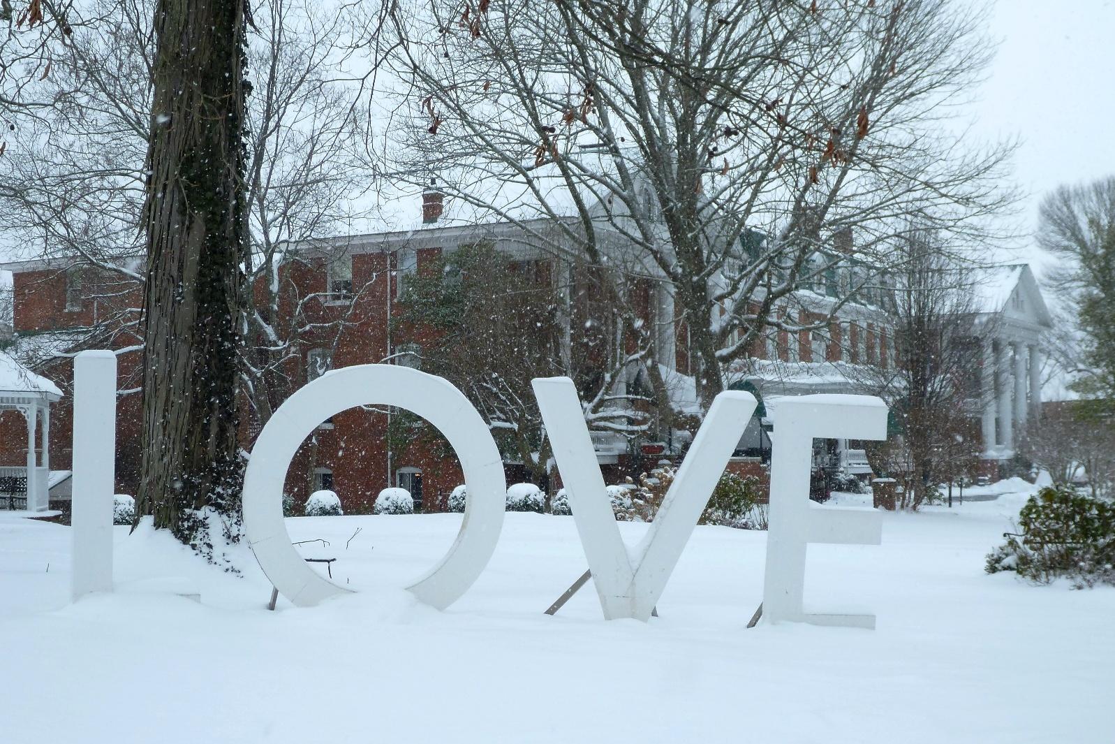 LOVE at the Martha Washington Inn