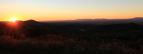 10.18.15 Clinch Mountain Sunset 3